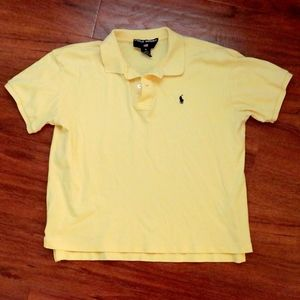 Polo Sport Yellow Polo shirt